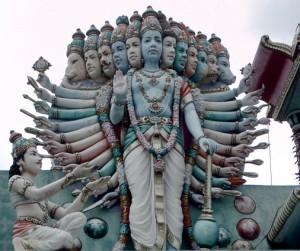 Vishnu's Cosmic Form
